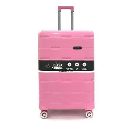 BP WORLD กระเป๋าเดินทาง 29 นิ้ว รุ่น 8008 (สีชมพู)