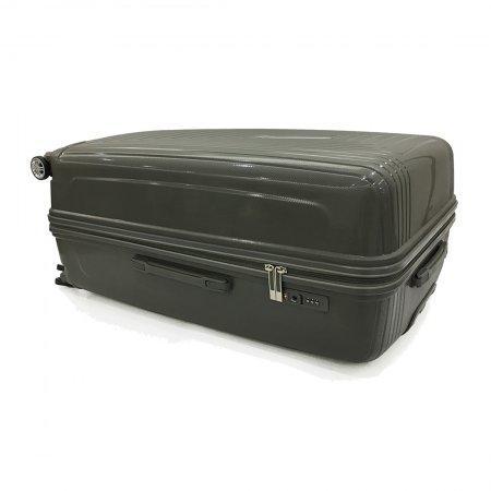 BP WORLD กระเป๋าเดินทาง รุ่น 8005  ขนาด 20  สีเทา