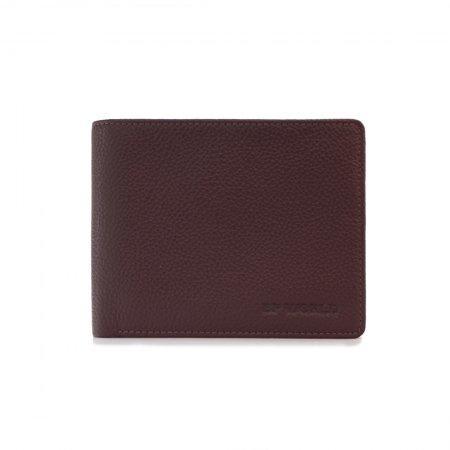 กระเป๋าธนบัตร หนังแท้ รุ่น WL17-04 (สีน้ำตาล)