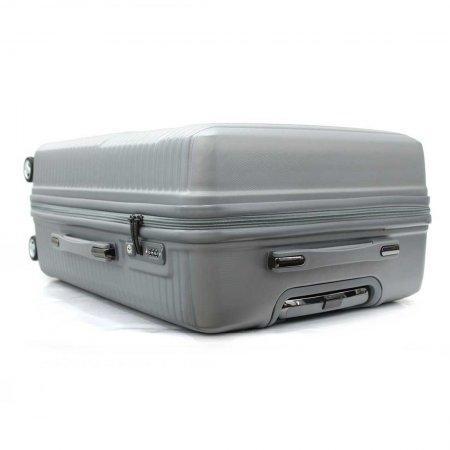 BLUE PLANET เซ็ทกระเป๋าเดินทาง รุ่น 147 ขนาด 25 นิ้ว และ 20 นิ้ว (สีเงิน)