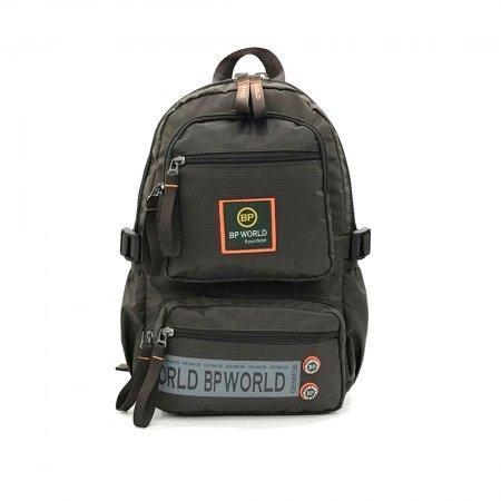 BP WORLD กระเป๋าเป้ รุ่น P6298 (สีน้ำตาล)