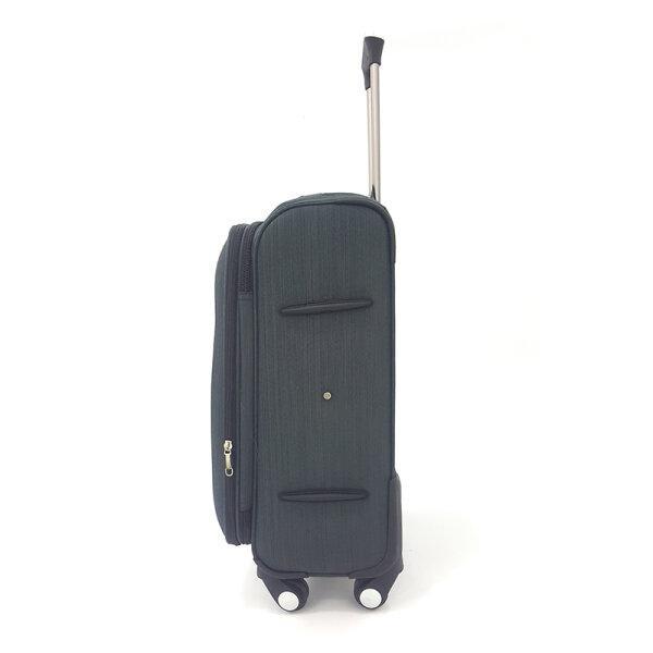 BLUE PLANET กระเป๋าเดินทาง รุ่น 4419 ขนาด20นิ้ว สีดำ