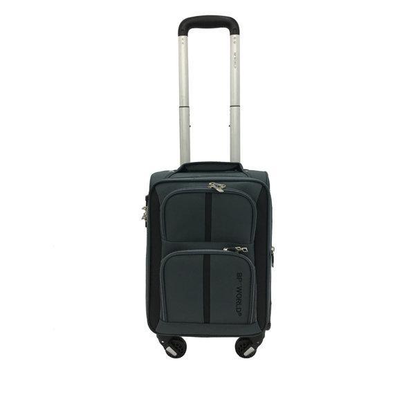 BP WORLD กระเป๋าเดินทาง รุ่น073 ขนาด16 นิ้ว สีเทา