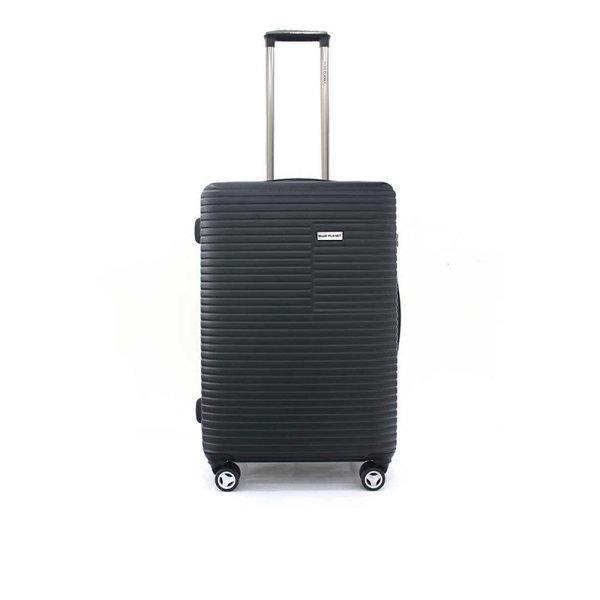 BLUE PLANET กระเป๋าเดินทาง รุ่น 147 ขนาด 25 นิ้ว สีดำ