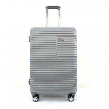BLUE PLANET กระเป๋าเดินทาง รุ่น 147 ขนาด 29 นิ้ว - สีเงิน