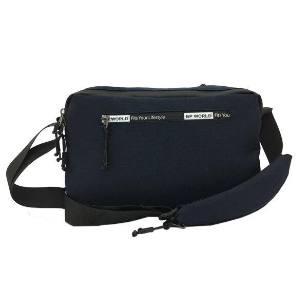 BP WORLD กระเป๋าสะพาย B6004 มีให้เลือก2สี ได้แก่ สีดำ,สีน้ำเงิน