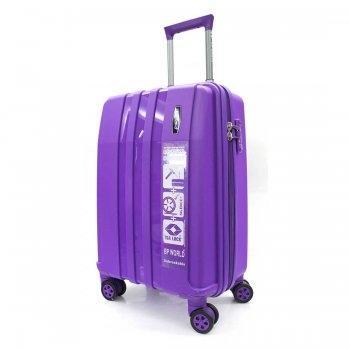 BP WORLD กระเป๋าเดินทาง 20 นิ้ว รุ่น 8003 - สีม่วง