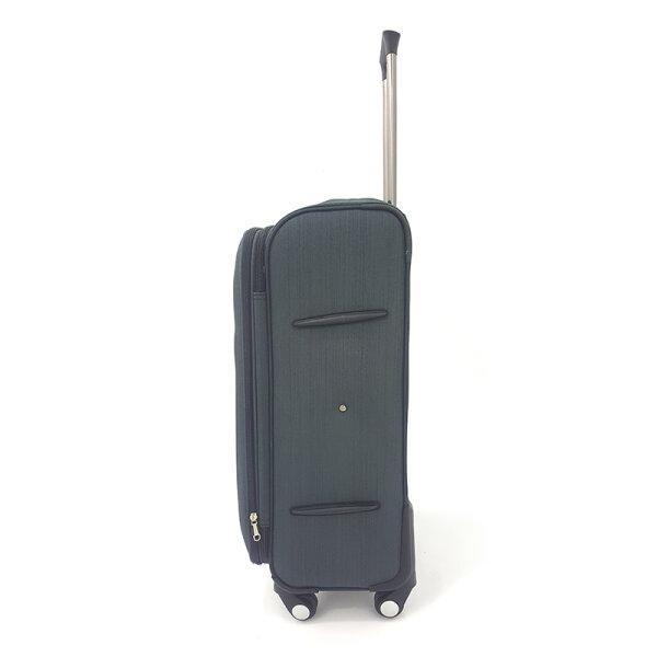 BLUE PLANET กระเป๋าเดินทาง รุ่น 4419 ขนาด24นิ้ว สีดำ