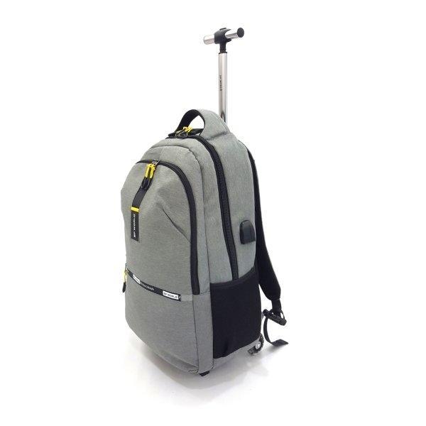 BP WORLD กระเป๋าเป้ รุ่น P1032-3 สีเทา