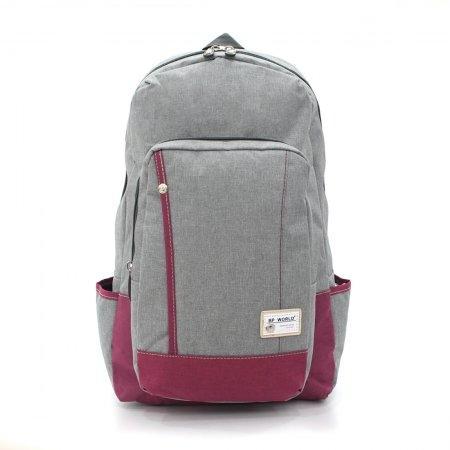 BP WORLD กระเป๋าเป้ รุ่น FINO P1408 (สีเทา)