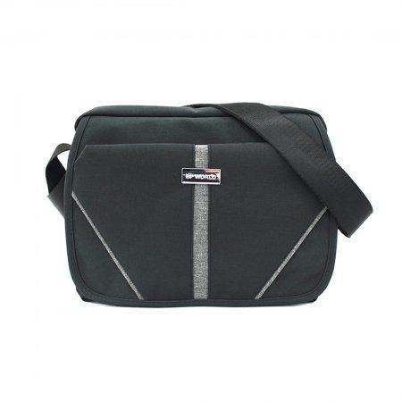 BP WORLD กระเป๋าสะพายข้าง รุ่น Aston B30187 (สีดำ)