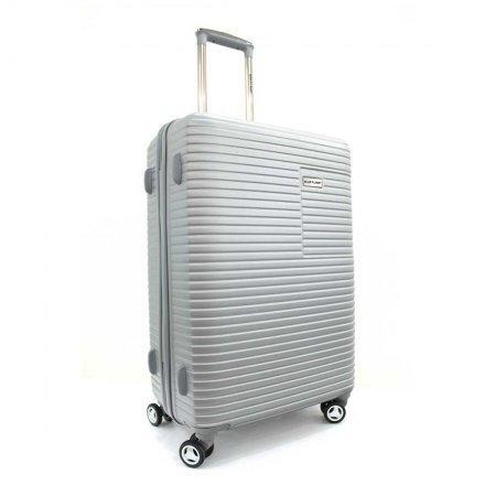 BLUE PLANET เซ็ทกระเป๋าเดินทาง รุ่น 147 ขนาด 29 นิ้ว และ 20 นิ้ว (สีเงิน)