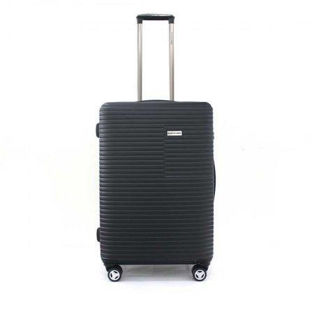 BLUE PLANET เซ็ทกระเป๋าเดินทาง รุ่น 147 ขนาด 25 นิ้ว และ 20 นิ้ว (สีดำ)