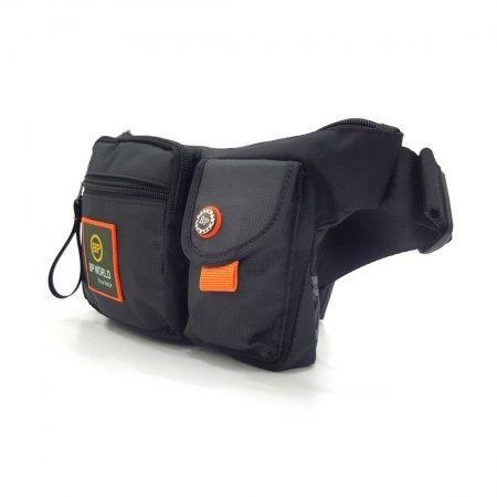 BP WORLD กระเป๋าคาดเอว รุ่น C6332 (สีดำ)