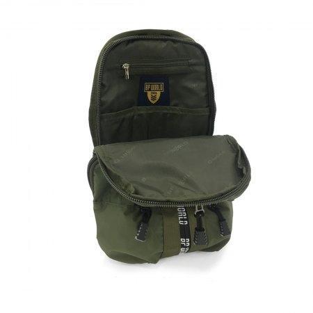 BP WORLD กระเป๋าคาดอก CAMO Collection รุ่น C6421 - GR (สี เขียว)