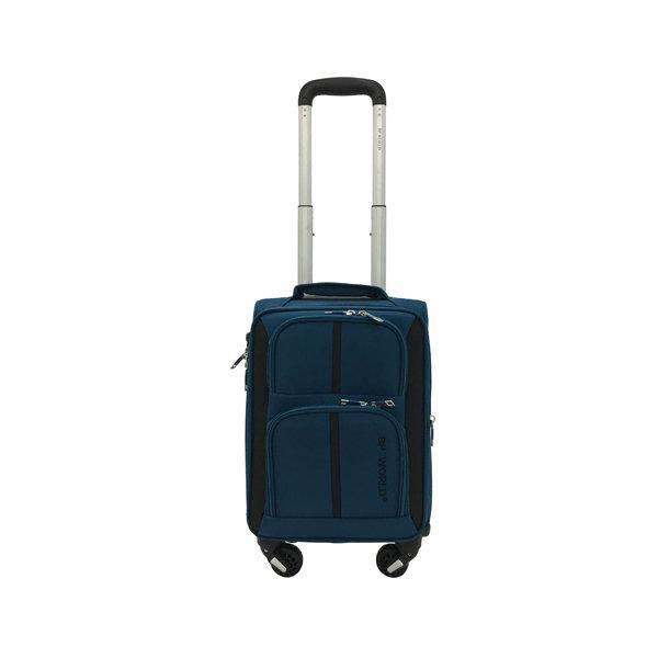 BP WORLD กระเป๋าเดินทาง รุ่น073 ขนาด16 นิ้ว สีน้ำเงิน