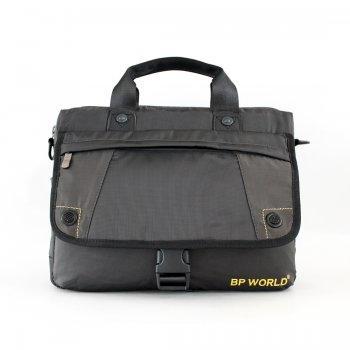 BP WORLD กระเป๋าเอกสาร รุ่น B8618 - สีดำ
