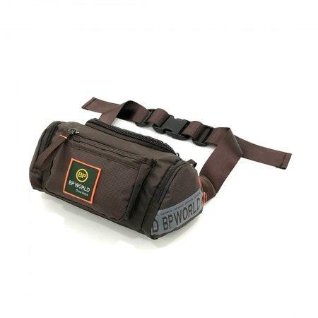 BP WORLD กระเป๋าคาดเอว รุ่น C5459 (สีน้ำตาล)