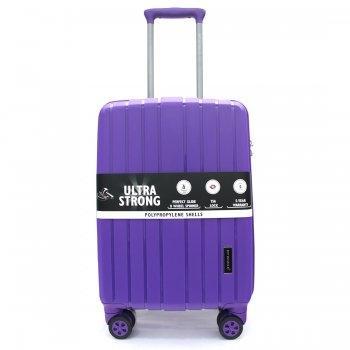 กระเป๋าเดินทาง 20 นิ้ว รุ่น 8004 - สีม่วง