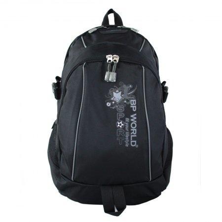 BP WORLD กระเป๋าเป้ รุ่น P1148 - สีดำ