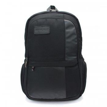 BP WORLD กระเป๋าเป้ โน๊ตบุ๊ค รุ่น PN57308 - สีดำ