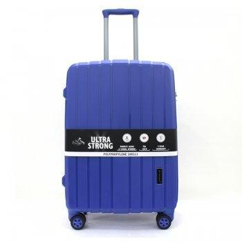 กระเป๋าเดินทาง 25 นิ้ว รุ่น 8004 - สีน้ำเงิน