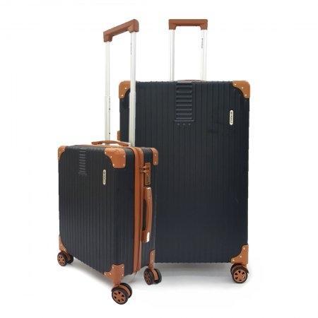 เซ็ทกระเป๋าเดินทาง BP WORLD รุ่น 7705 ขนาด 29 นิ้ว และ 20 นิ้ว (สีดำ)