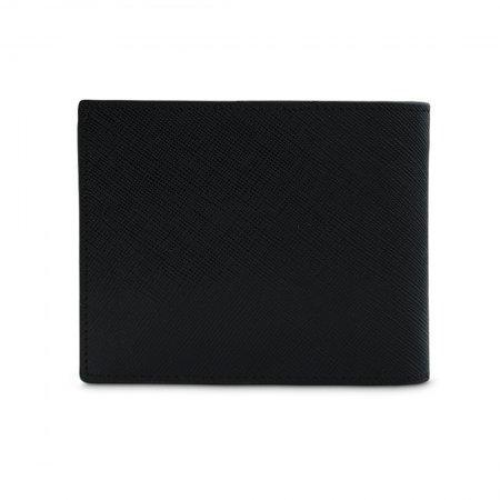 กระเป๋าธนบัตร หนังแท้ รุ่น WL17-08 (สีดำ)