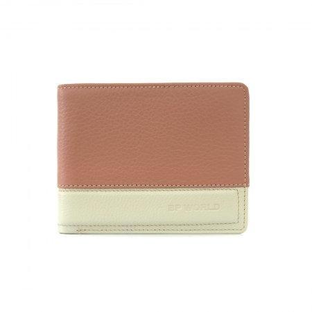 กระเป๋าธนบัตร หนังแท้ รุ่น WL17-03 (สีน้ำตาลแดง)