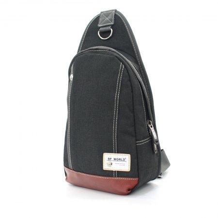 BP WORLD กระเป๋าสะพาย คาดอก รุ่น FINO B1411 (สีดำ)