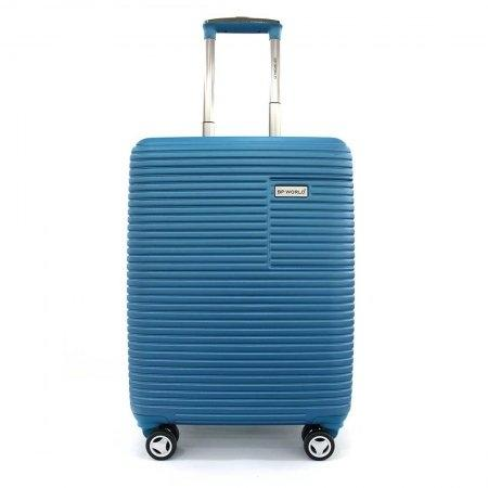 BLUE PLANET กระเป๋าเดินทาง รุ่น 147 ขนาด 20 นิ้ว (สีฟ้า)