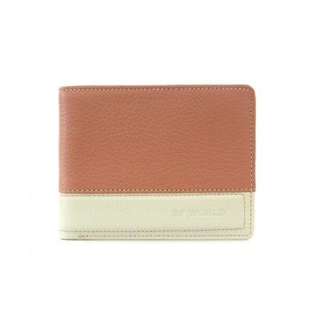 กระเป๋าธนบัตร หนังแท้ รุ่น WL17-02 (สีน้ำตาลแดง)