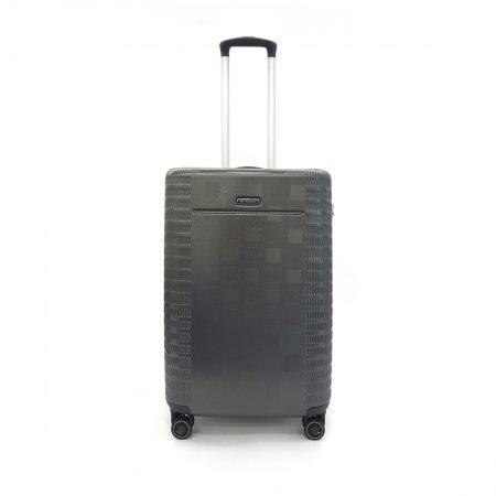 BP WORLD กระเป๋าเดินทาง รุ่น 8374 ขนาด 25 สีเทา