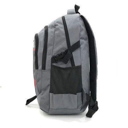 BP WORLD Premium  BLUE PLANET กระเป๋าเป้ รุ่น P1406-2 สีเทา + PM0002ขวดน้ำสแตนเลสฉนวนสุญญากาศ 400 MLเทา