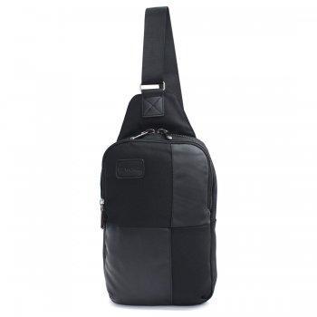 BP WORLD กระเป๋าสะพาย คาดอก รุ่น B54095 - สีดำ
