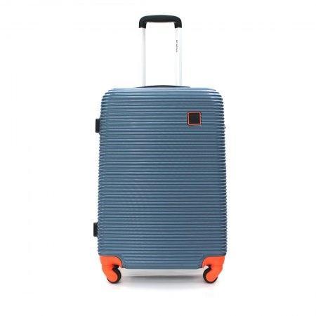 BP WORLD กระเป๋าเดินทาง 25 นิ้ว รุ่น 10053 (สีน้ำเงิน)