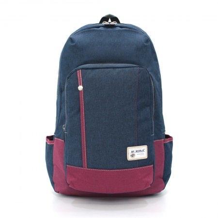 BP WORLD กระเป๋าเป้ รุ่น FINO P1408 (สีน้ำเงิน)
