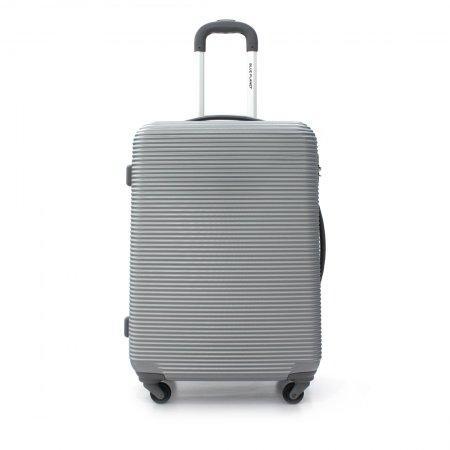 BLUE PLANET กระเป๋าเดินทาง 25 นิ้ว รุ่น 8111 (สีเงิน)
