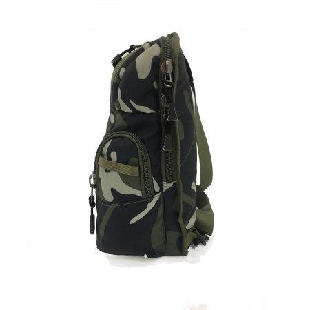 BP WORLD กระเป๋าคาดอก CAMO Collection รุ่น C6421 - GS (สี ลายทหาร)
