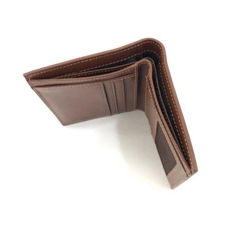 BP WORLD กระเป๋าธนบัตรหนังแท้ รุ่น BN2726 (สีน้ำตาล)