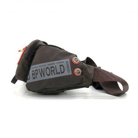 BP WORLD กระเป๋าคาดเอว รุ่น C5836 (สีน้ำตาล)