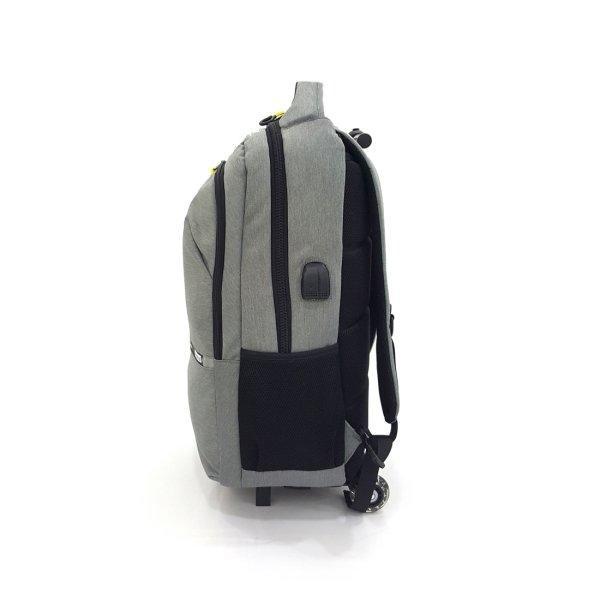 BP WORLD กระเป๋าเป้ คันชักล้อลาก รุ่น P1032-3 สีเทา