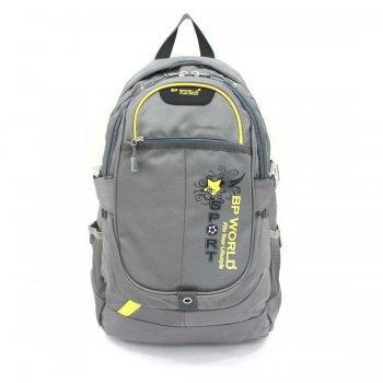 กระเป๋าเป้ รุ่น P1126 (สีเทา)