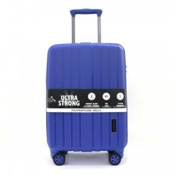 กระเป๋าเดินทาง 20 นิ้ว รุ่น 8004 - สีน้ำเงิน