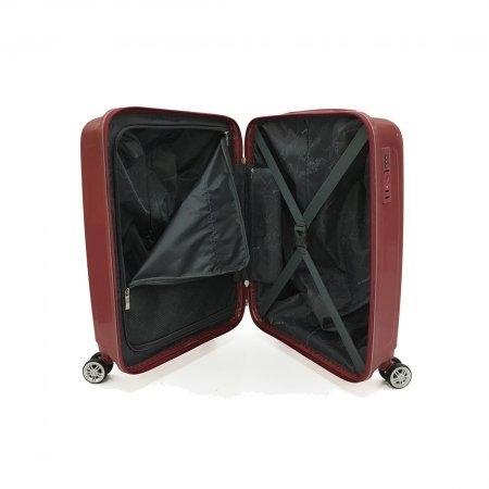 BP WORLD กระเป๋าเดินทาง รุ่น 8005  ขนาด 20  สีแดง