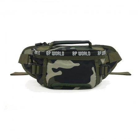 BP WORLD กระเป๋าคาดเอว CAMO Collection รุ่น C6433 - GS(สี ลายทหาร)