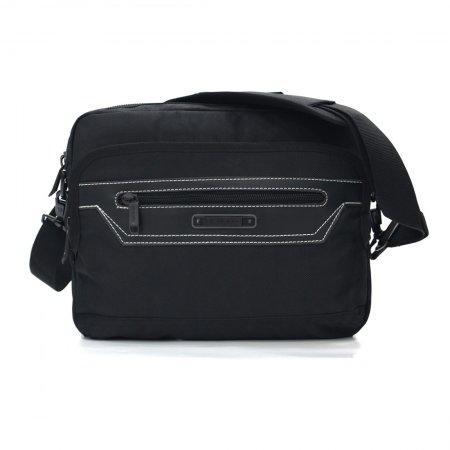 BP WORLD กระเป๋าสะพายข้าง รุ่น B1238 (สีดำ)