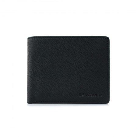 กระเป๋าธนบัตร หนังแท้ รุ่น WL17-04 (สีดำ)
