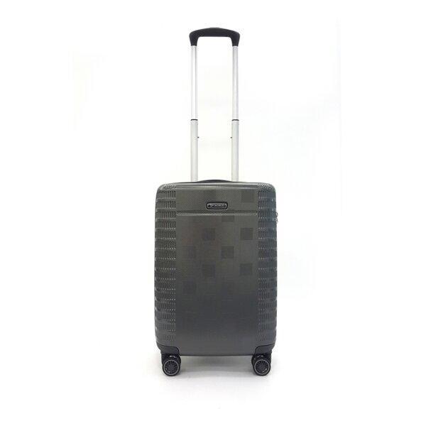 BP WORLD กระเป๋าเดินทาง รุ่น 8374  ขนาด 20  สีเทา