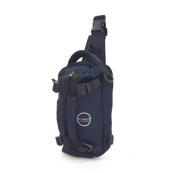 BP WORLD กระเป๋าสะพายไหล่ คาดอก รุ่น B10683 มีให้เลือก2สี สีดำ,สีน้ำเงิน